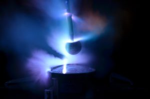 high current tests on a light