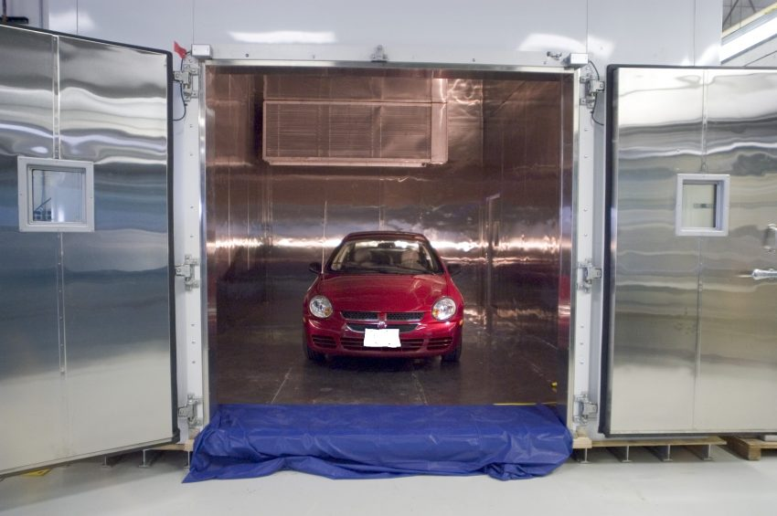 car-in-chamber