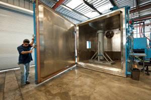 NTS environmental testing lab in Fullerton