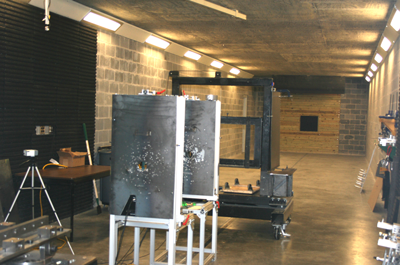 Indoor Ballistic Test Range