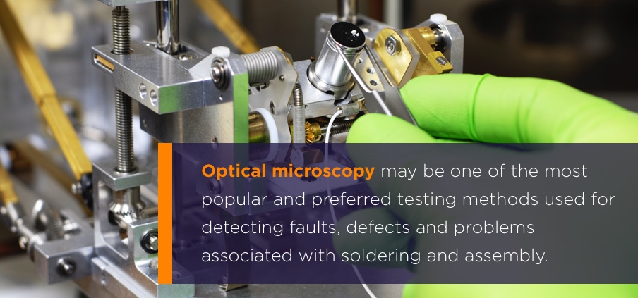 pcb failure analysis printed circuit board tests ntsoptical microscopy may be one of the most popular and preferred testing methods used for detecting faults, defects and problems associated with soldering