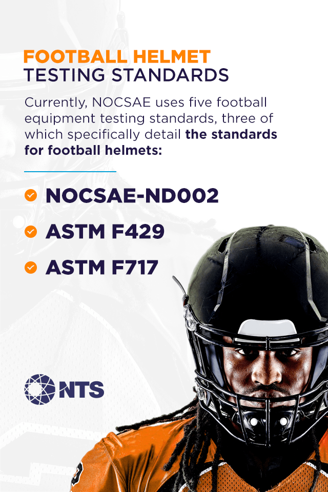 football helmet testing standards