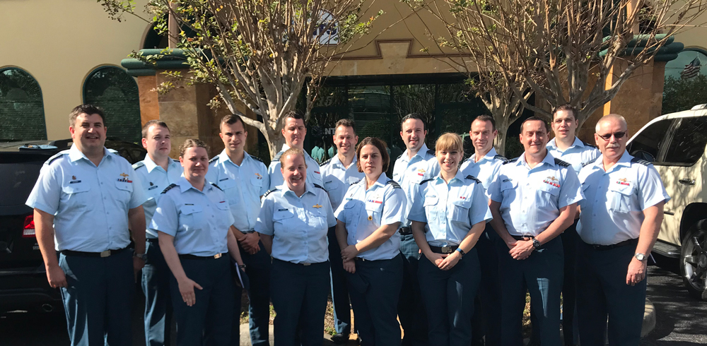 Canadian Forces School of Aerospace Studies Visits Orlando