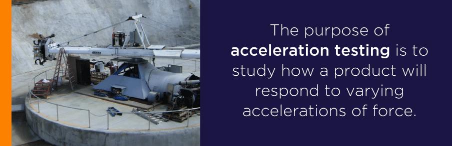 acceleration testing