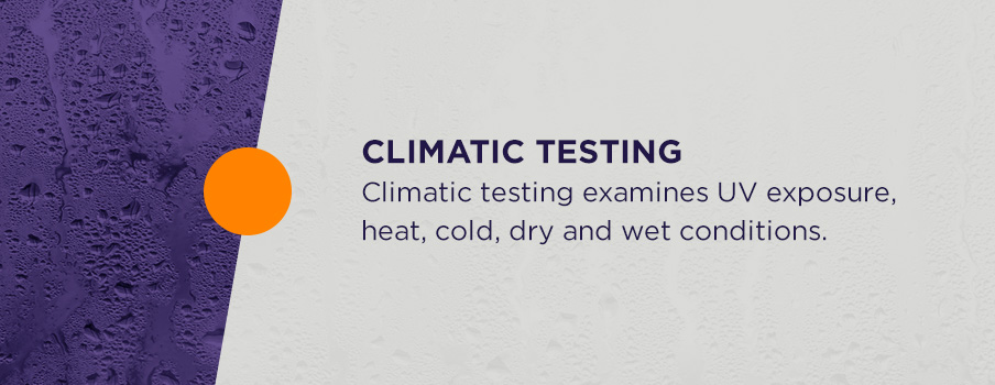 automotive climatic testing