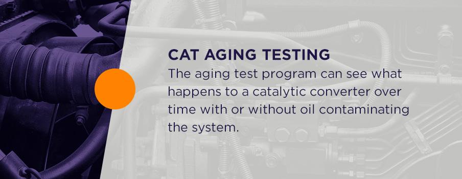 cat aging testing