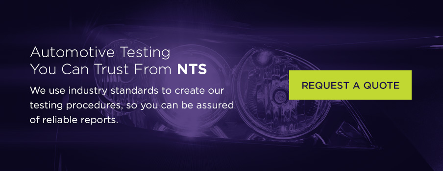 NTS automotive testing