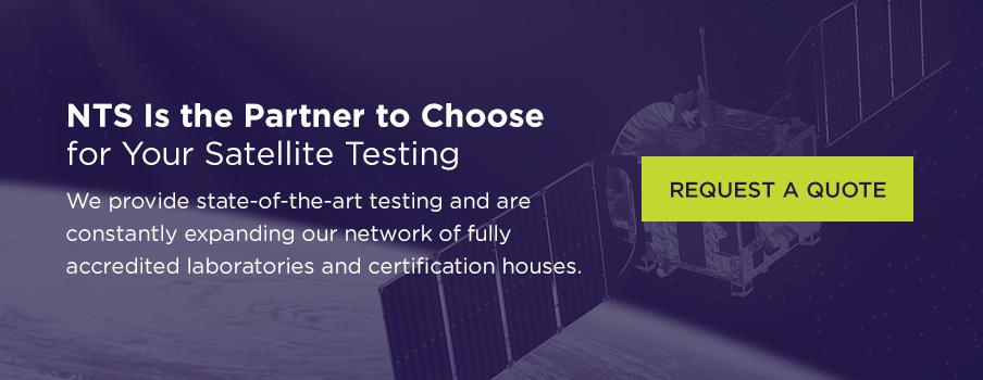 nts provides satellite testing