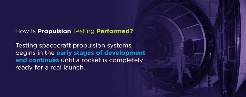 propulsion testing methods