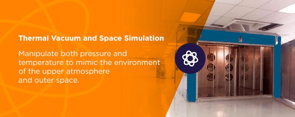 thermal vacuum space simulation