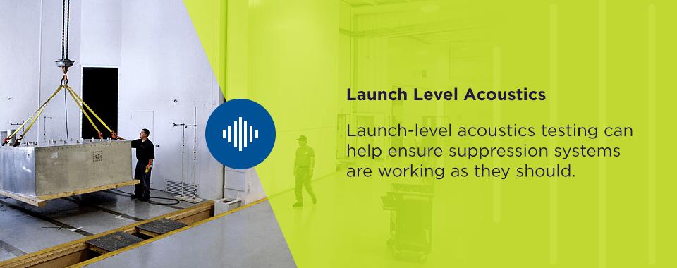 launch level acoustics