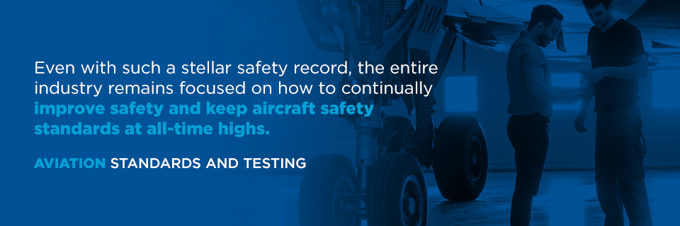 aviation standards and testing