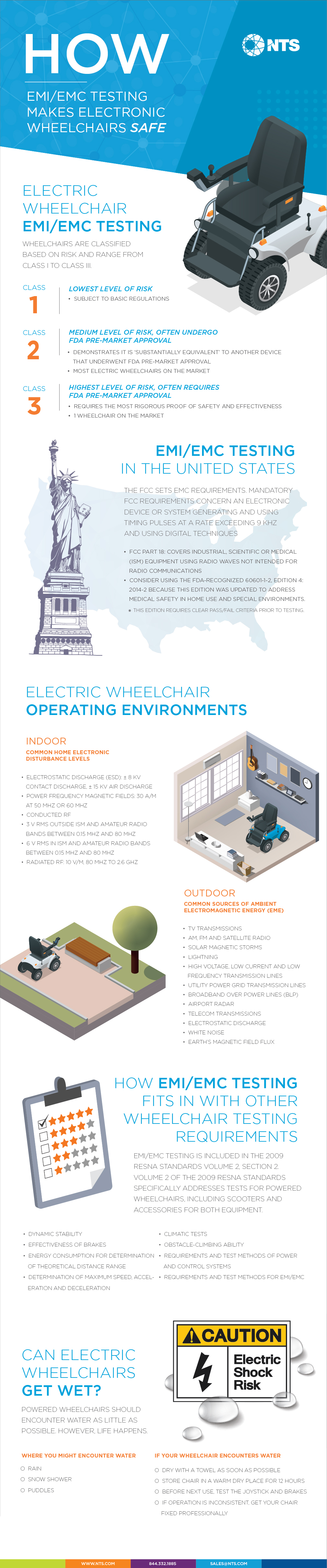 electric wheelchair testing