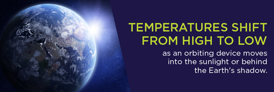 temperature shifts in space