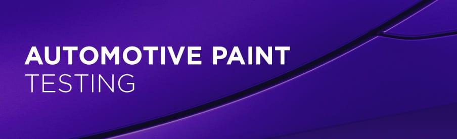 automotive paint testing