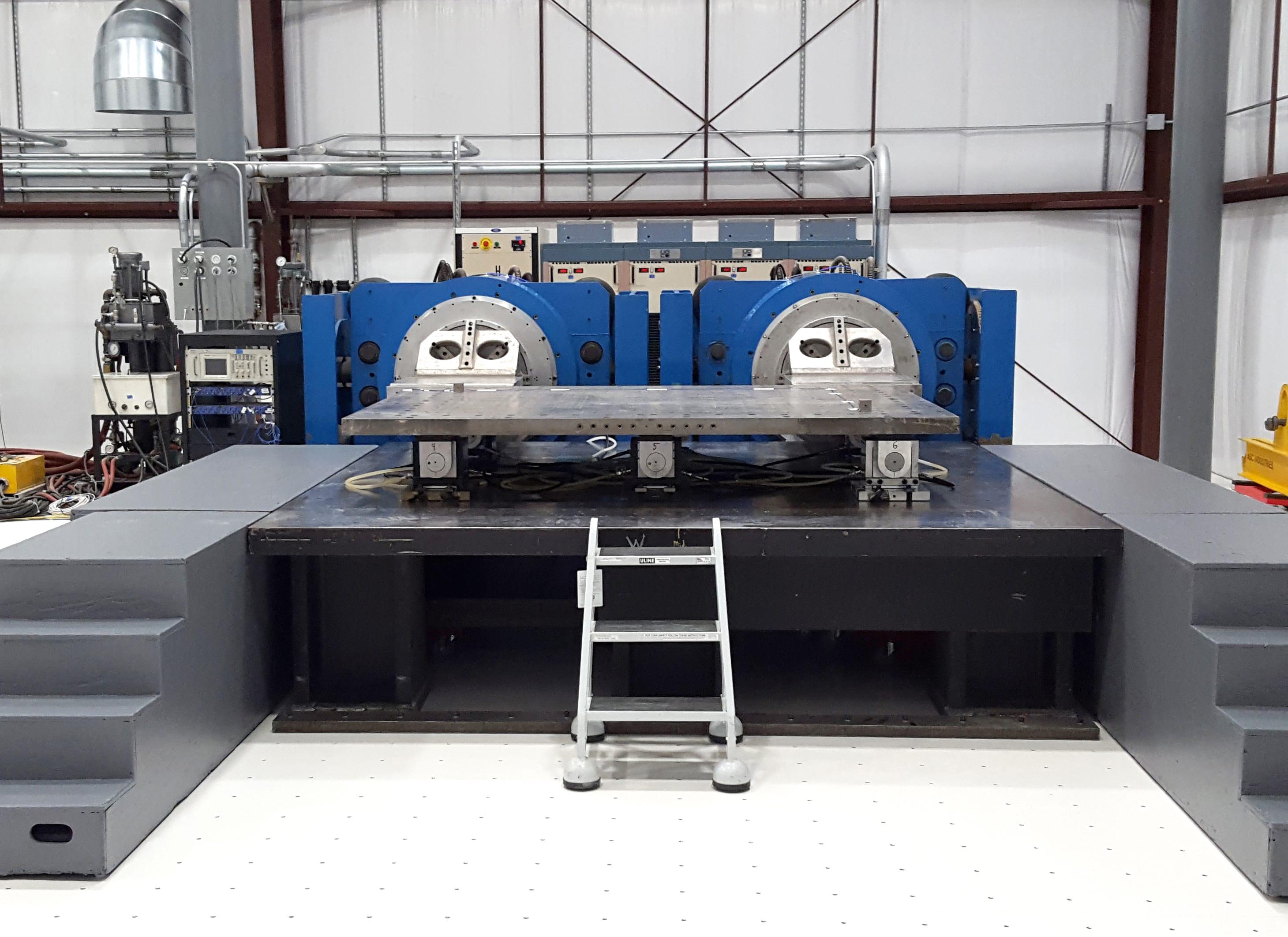 Dual Shaker Testing in Southern California