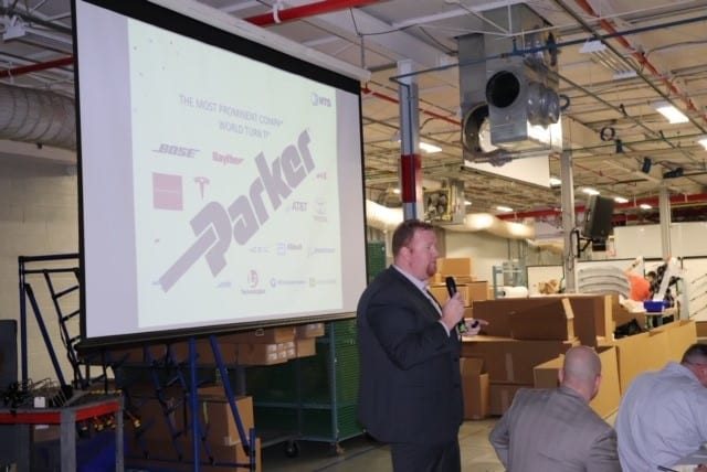 NTS Fullerton presents to Parker Engineering